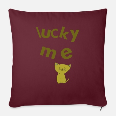 lucky me - Sofa pillow with filling 45cm x 45cm