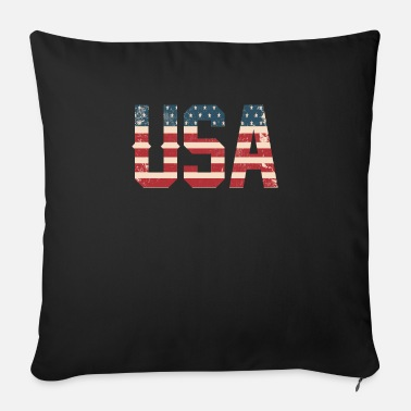 Usa USA - Sofa pillow with filling 45cm x 45cm