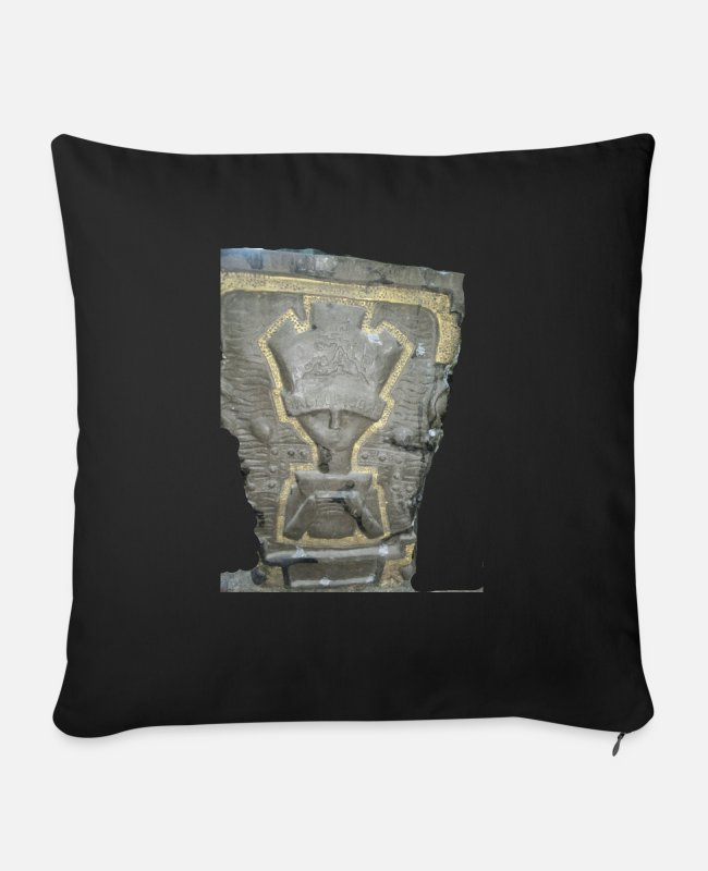 Alien Pillow Cases - Extraterrestrial Aguas Calientes Cuzco - Sofa pillow with filling 45cm x 45cm black