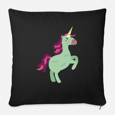 Fable zombie unicorn - Sofa pillow with filling 45cm x 45cm