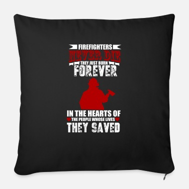 Firebrigade Firefighters firebrigade fire defense defender new ho - Sofa pillow with filling 45cm x 45cm