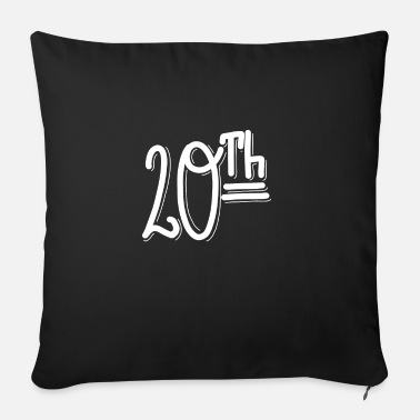 20th 20th - Sofa pillow with filling 45cm x 45cm