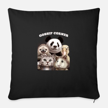 Gossip GOSSIP CORNER - Sofa pillow with filling 45cm x 45cm