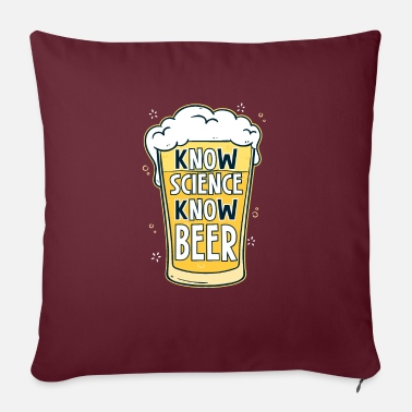 Brewery beer drinker builder booze tour alcohol - Sofa pillow with filling 45cm x 45cm