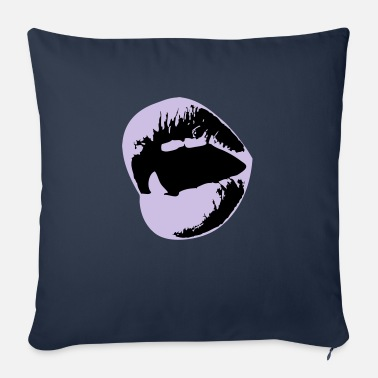 Mouth Mouth - Sofa pillow with filling 45cm x 45cm