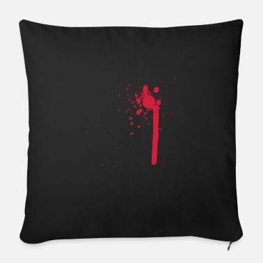 Blood blood / blood - Sofa pillow with filling 45cm x 45cm