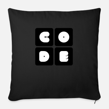 Code code - Sofa pillow with filling 45cm x 45cm