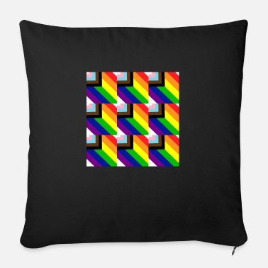 Rainbow Flag Rainbow flag - Sofa pillow with filling 45cm x 45cm