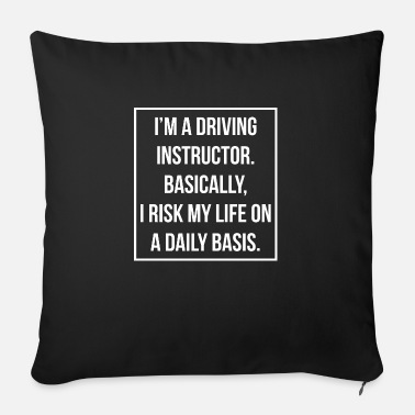 Driving School Driving Instructor Driving Instructor Gift Driving School - Sofa pillow with filling 45cm x 45cm