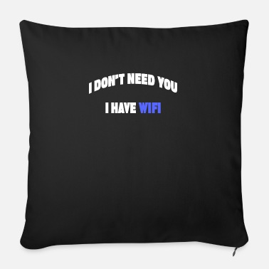 Saying Say funny sayings - Sofa pillow with filling 45cm x 45cm