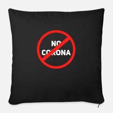Corona No corona - Sofa pillow with filling 45cm x 45cm
