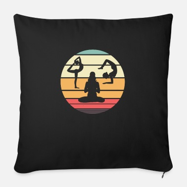 Yoga Retro yoga - Sofa pillow with filling 45cm x 45cm