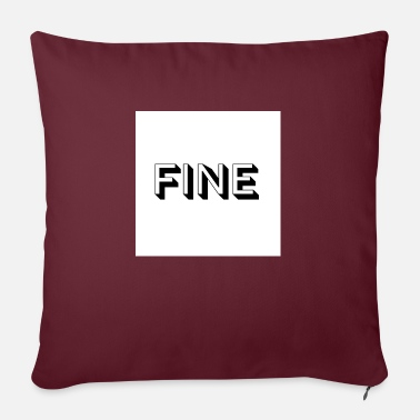 Fine fine - Sofa pillow with filling 45cm x 45cm