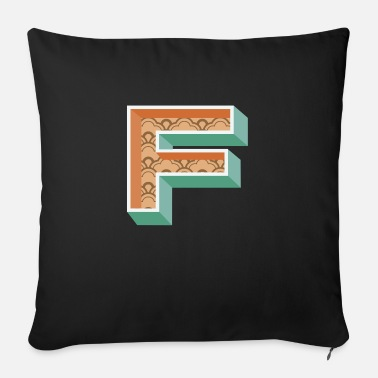 Initial Initial - Sofa pillow with filling 45cm x 45cm