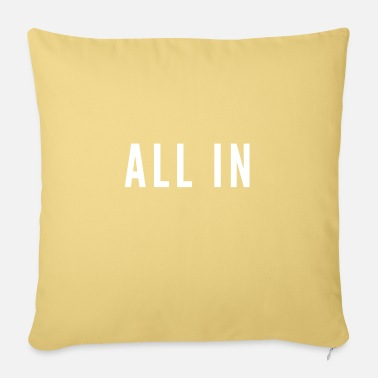 Alles All in - Sofa pillow with filling 45cm x 45cm