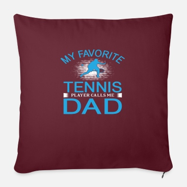 Play Tennis - Sofa pillow with filling 45cm x 45cm