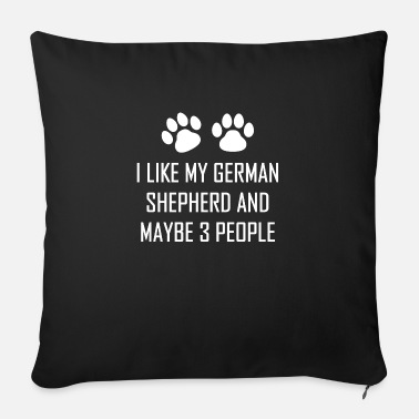 Pug Dog Dog dog - Sofa pillow with filling 45cm x 45cm