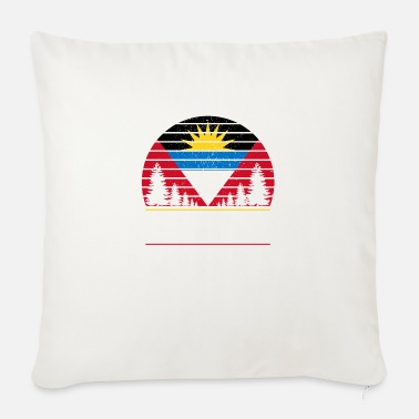 Antigua Antigua and Barbuda flag Caribbean gift - Sofa pillow with filling 45cm x 45cm