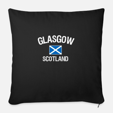 Glasgow Scotland Glasgow - Sofa pillow with filling 45cm x 45cm