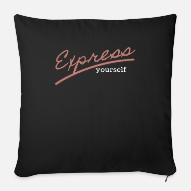 Expression express - Sofa pillow with filling 45cm x 45cm
