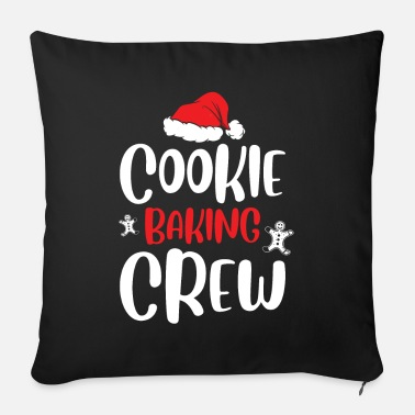 Advent Cookie Banking Crew - Sofa pillow with filling 45cm x 45cm