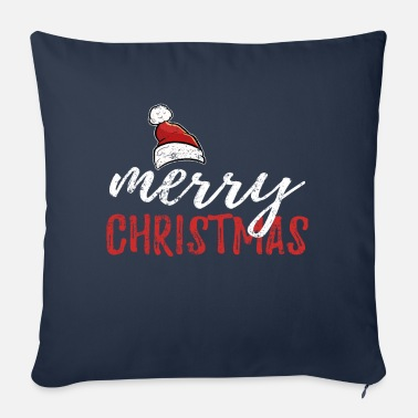 Merry Christmas xmas gift - Sofa pillow with filling 45cm x 45cm
