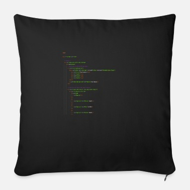 Homepage Programming Html. Homepage Nerd Shirt - Sofa pillow with filling 45cm x 45cm