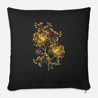 Children flowers - Sofa pillow with filling 45cm x 45cm