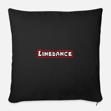 Countrymusic Linedance, western, countrymusic, gift, funny, - Sofa pillow with filling 45cm x 45cm