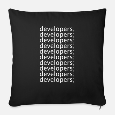 Development Developers - Sofa pillow with filling 45cm x 45cm