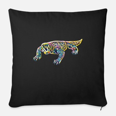Monitoring Monitor lizard - Sofa pillow with filling 45cm x 45cm