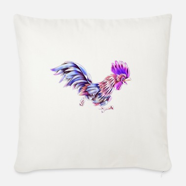 Rooster Rooster - Sofa pillow with filling 45cm x 45cm