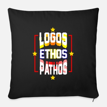 Philosopher philosopher - Sofa pillow with filling 45cm x 45cm