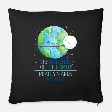 Solar System Earth Day - Sofa pillow with filling 45cm x 45cm