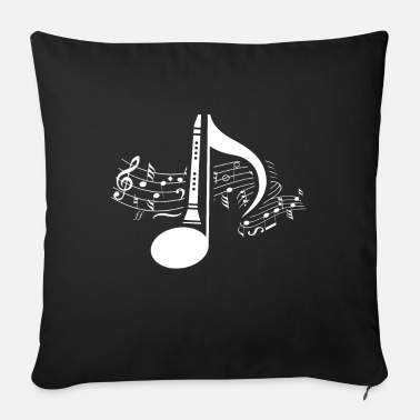 Opera clarinet - Sofa pillow with filling 45cm x 45cm
