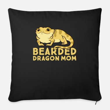 Salamander Bearded Dragon Mom Lizard Cute Bearded Dragon - Sofa pillow with filling 45cm x 45cm