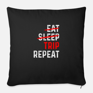 Trip TRIP REPEAT - Soffkudde med stoppning 44 x 44 cm