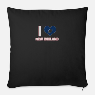New England I love New England - Sofa pillow with filling 45cm x 45cm
