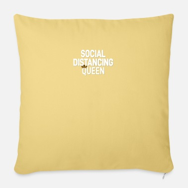 Social Distancing Social Distance Social Distancing Queen - Sofa pillow with filling 45cm x 45cm