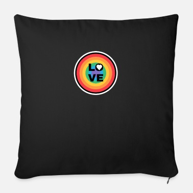 Marriage Equality Pride Day Love Rainbow Flag LGBT - Sofa pillow with filling 45cm x 45cm