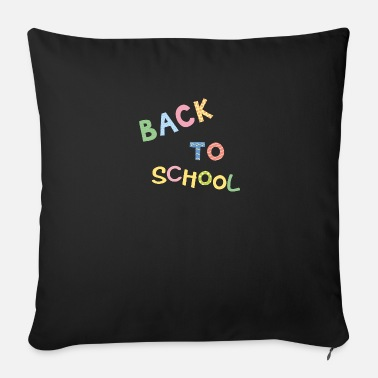 Night School Back to school - Sofa pillow with filling 45cm x 45cm