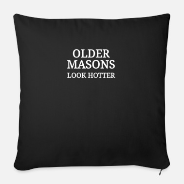 Mason Masons Mason Mason old mason craftsman - Sofa pillow with filling 45cm x 45cm