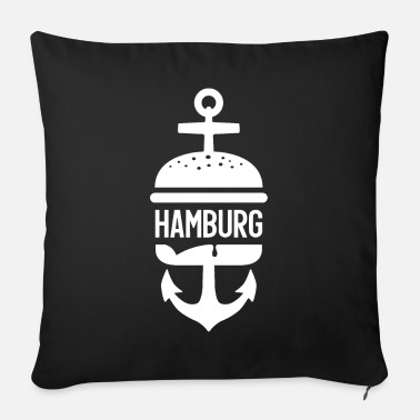 Hamburg HAMBURG HAMBURGER - Sofa pillow with filling 45cm x 45cm