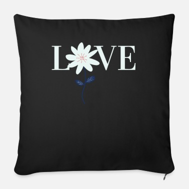 Tulip Love flower - Sofa pillow with filling 45cm x 45cm