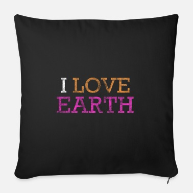 Earth Earth Earth Earth - Sofa pillow with filling 45cm x 45cm