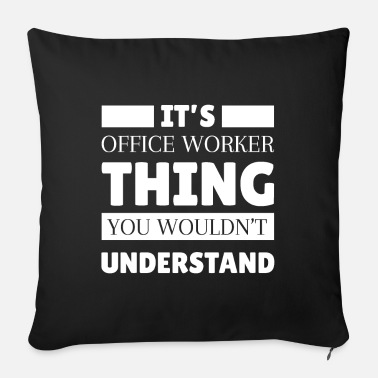 Office Office worker Office clerk Office clerk - Sofa pillow with filling 45cm x 45cm