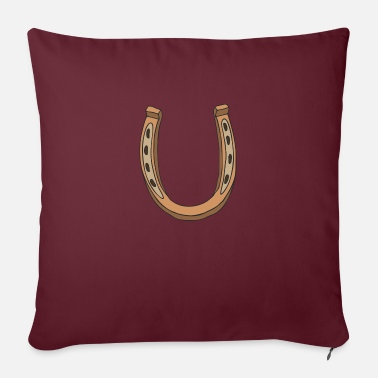 horseshoe - Sofa pillow with filling 45cm x 45cm