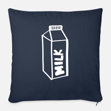 Milk Milk milk - Sofa pillow with filling 45cm x 45cm