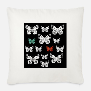 Nature Lovers Butterfly nature lover nature lover - Sofa pillow with filling 45cm x 45cm