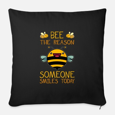Bee Bee bees - Sofa pillow with filling 45cm x 45cm
